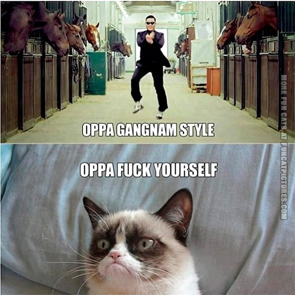 Gangnam Style is getting old