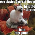 Playing Game of Thrones