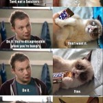Have a Snickers Grumpy