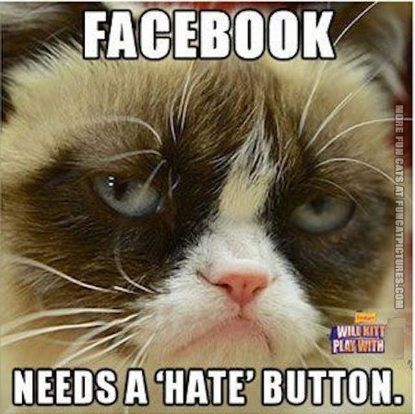 Grumpy about Facebook