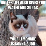 Grumpy about life and lemons